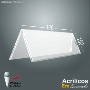 Prisma triangular de mesa